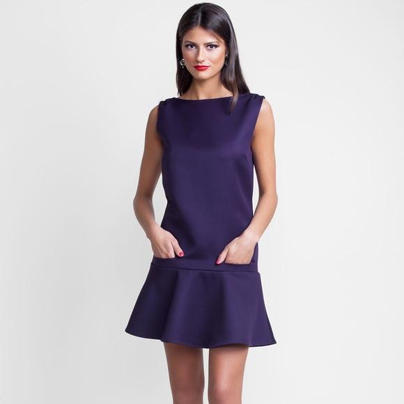 8819fa606bf Suzy Perette Plum Cocobella Dress